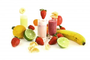 Fruity smoothies