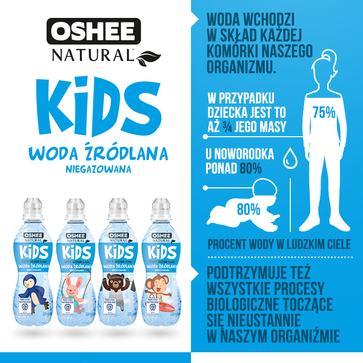 OSHEE KIDS-water